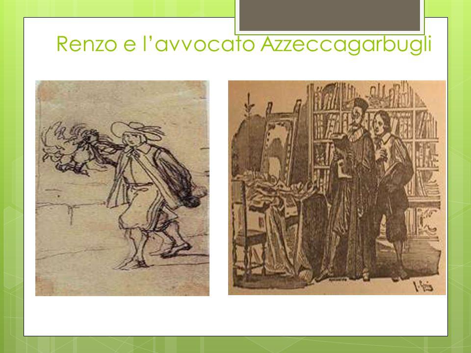 Renzo e l'avvocato Azzeccagarbugli
