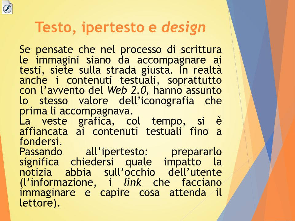 Testo, ipertesto e design