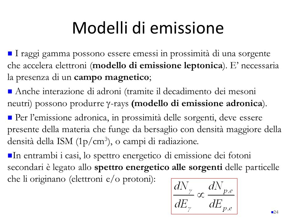 Modelli di emissione