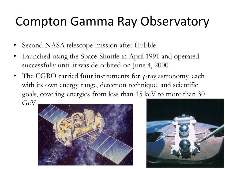 Compton Gamma Ray Observatory