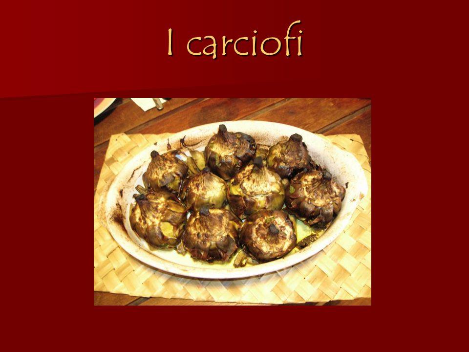 I carciofi