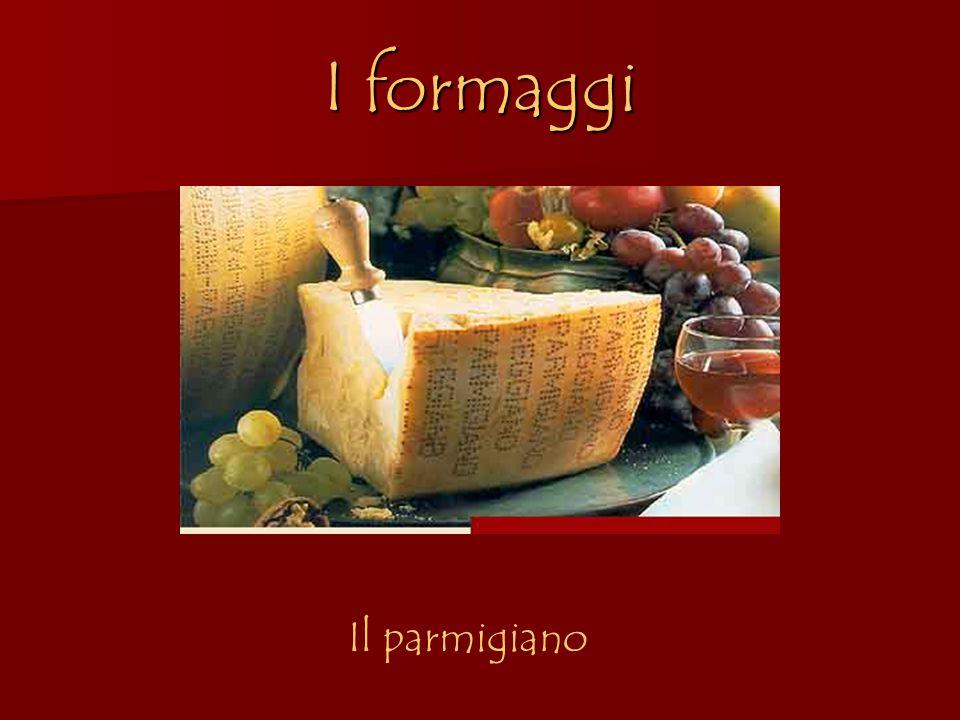 I formaggi Il parmigiano