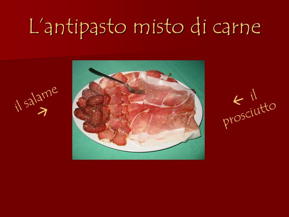 L'antipasto misto di carne