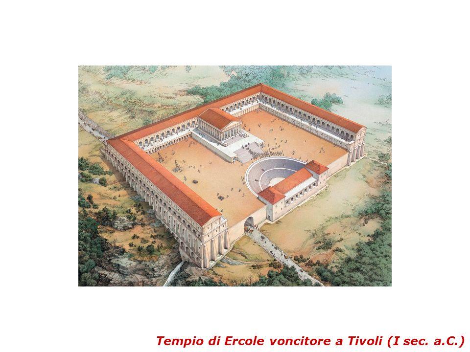 Tempio di Ercole voncitore a Tivoli (I sec. a.C.)