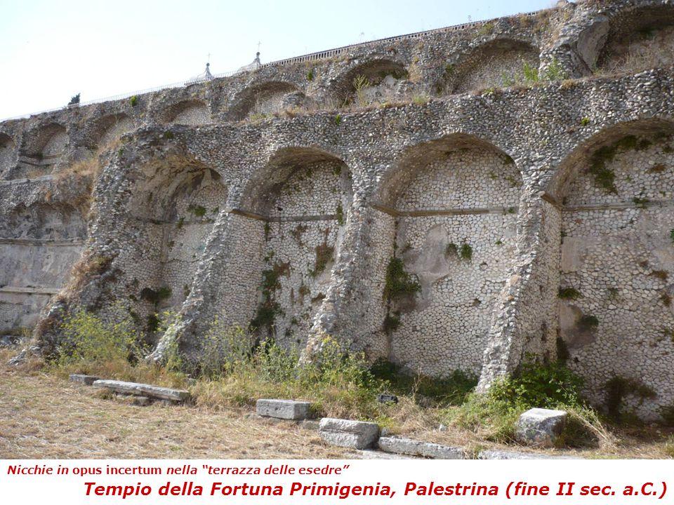 Tempio della Fortuna Primigenia, Palestrina (fine II sec. a.C.)