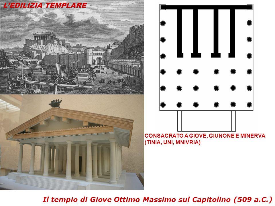 Il tempio di Giove Ottimo Massimo sul Capitolino (509 a.C.)