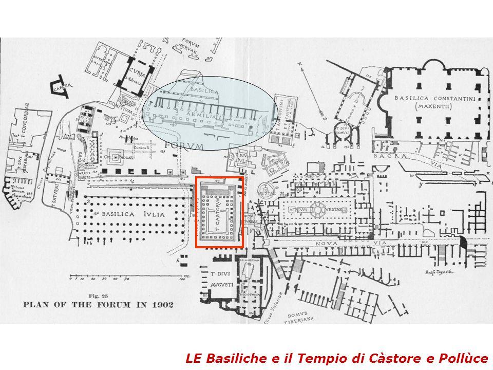 LE Basiliche e il Tempio di Càstore e Pollùce