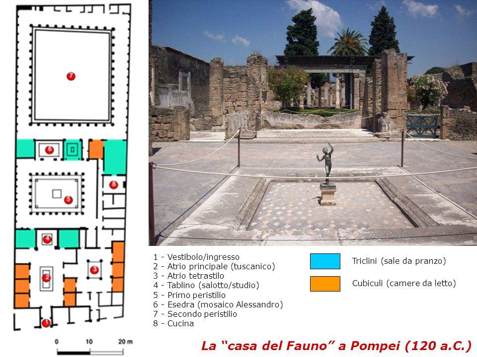 La casa del Fauno a Pompei (120 a.C.)