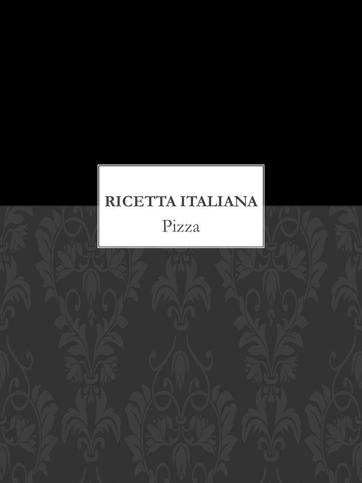 Ricetta Italiana Pizza