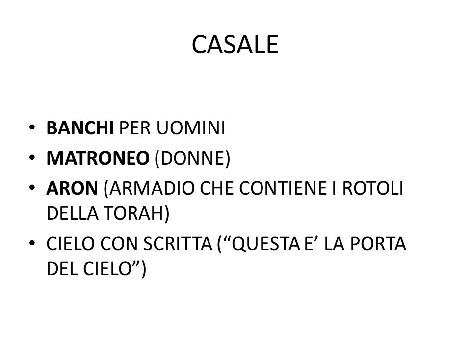 CASALE BANCHI PER UOMINI MATRONEO (DONNE)
