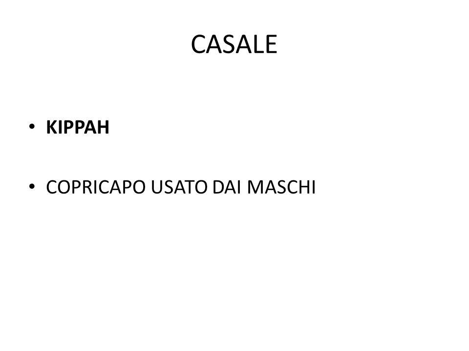 CASALE KIPPAH COPRICAPO USATO DAI MASCHI