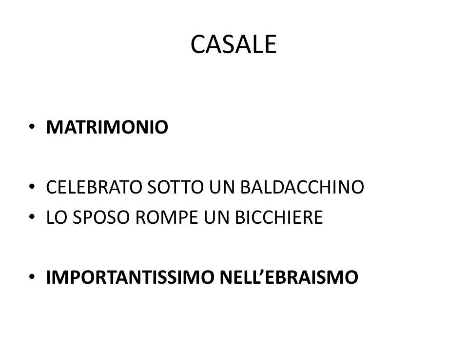 CASALE MATRIMONIO CELEBRATO SOTTO UN BALDACCHINO