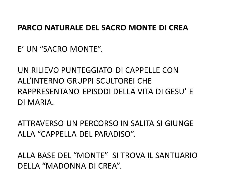 PARCO NATURALE DEL SACRO MONTE DI CREA