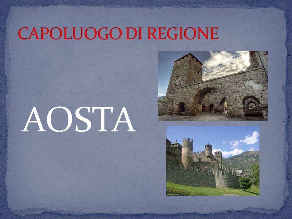 CAPOLUOGO DI REGIONE AOSTA