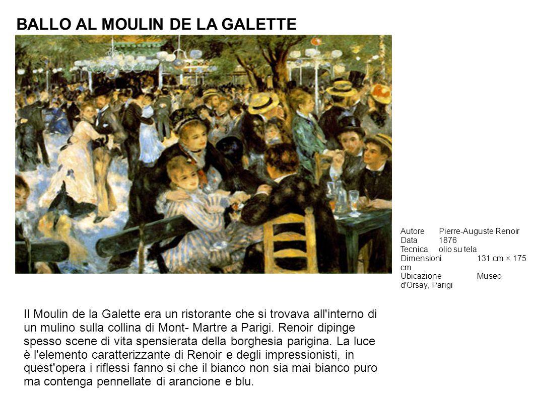 BALLO AL MOULIN DE LA GALETTE