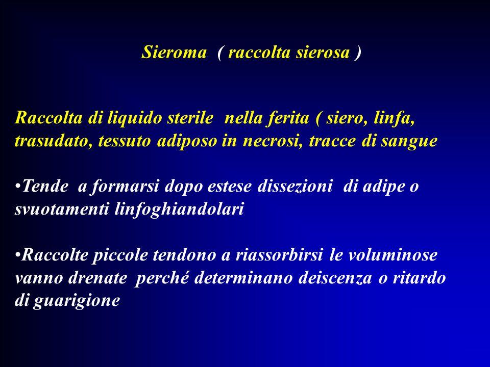 Sieroma ( raccolta sierosa )