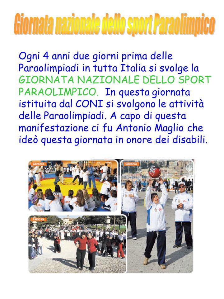 Giornata nazionale dello sport Paraolimpico