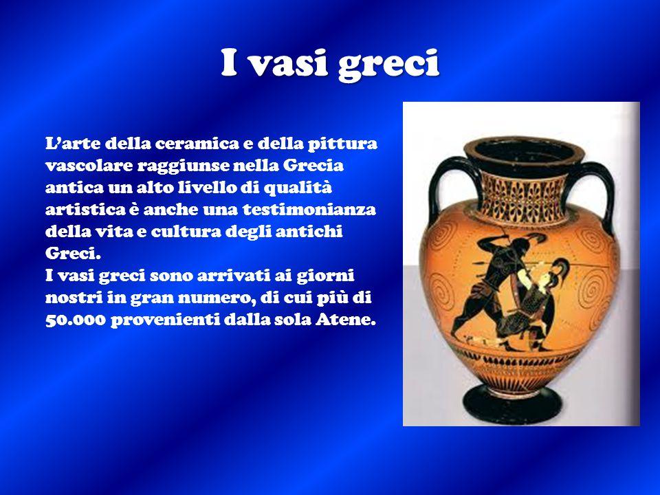 I vasi greci