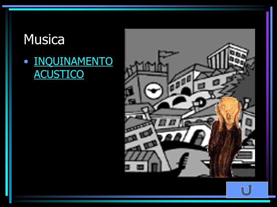 Musica INQUINAMENTO ACUSTICO