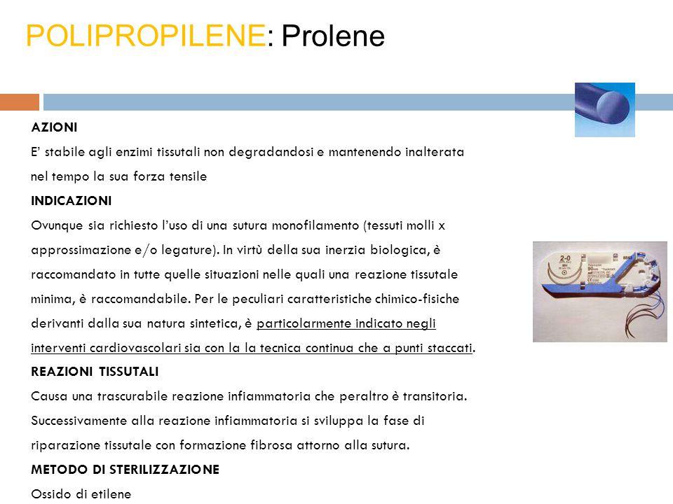 POLIPROPILENE: Prolene