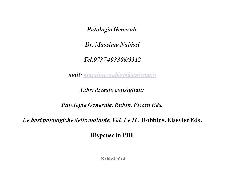 mail: massimo.nabissi@unicam.it Libri di testo consigliati: