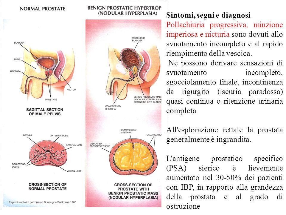 Sintomi, segni e diagnosi