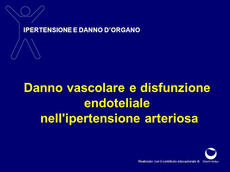 Danno vascolare e disfunzione nell ipertensione arteriosa