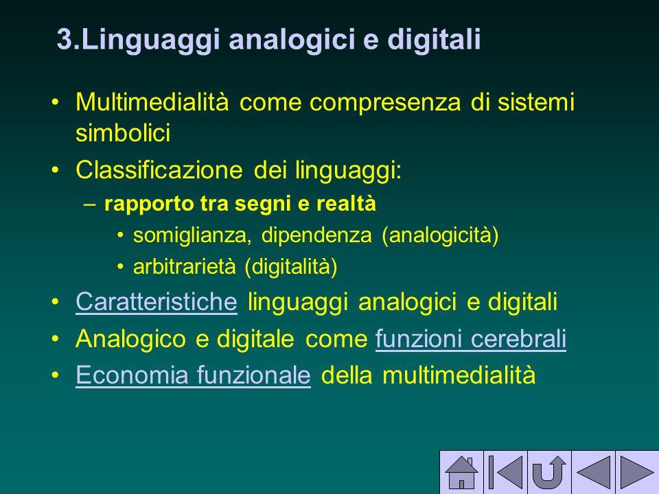 3.Linguaggi analogici e digitali