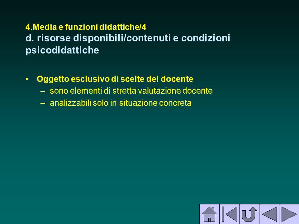 4. Media e funzioni didattiche/4 d
