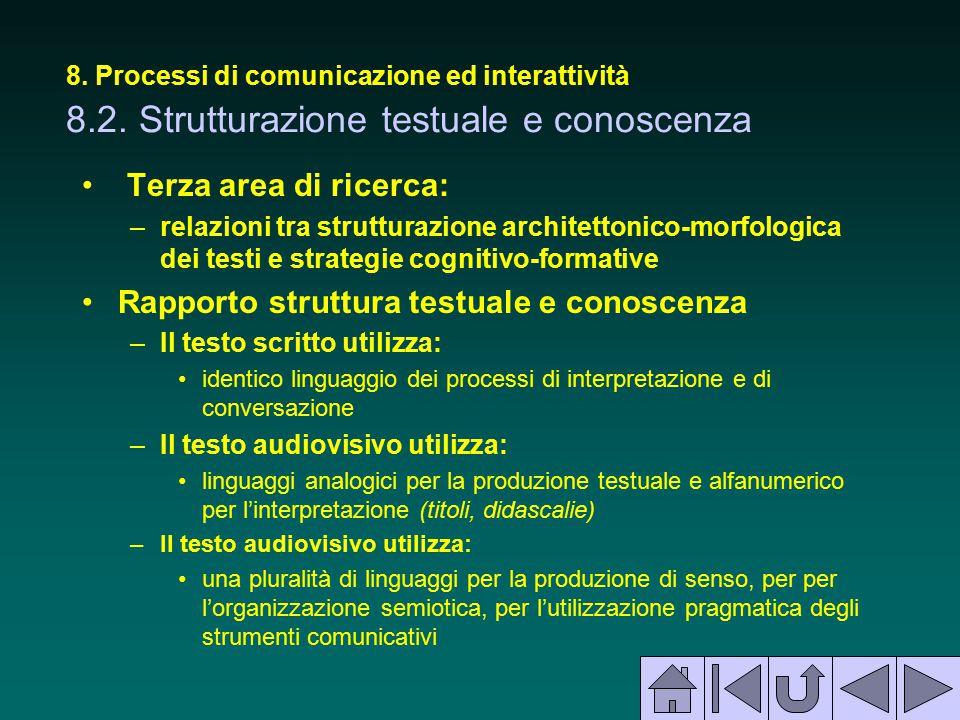 Rapporto struttura testuale e conoscenza