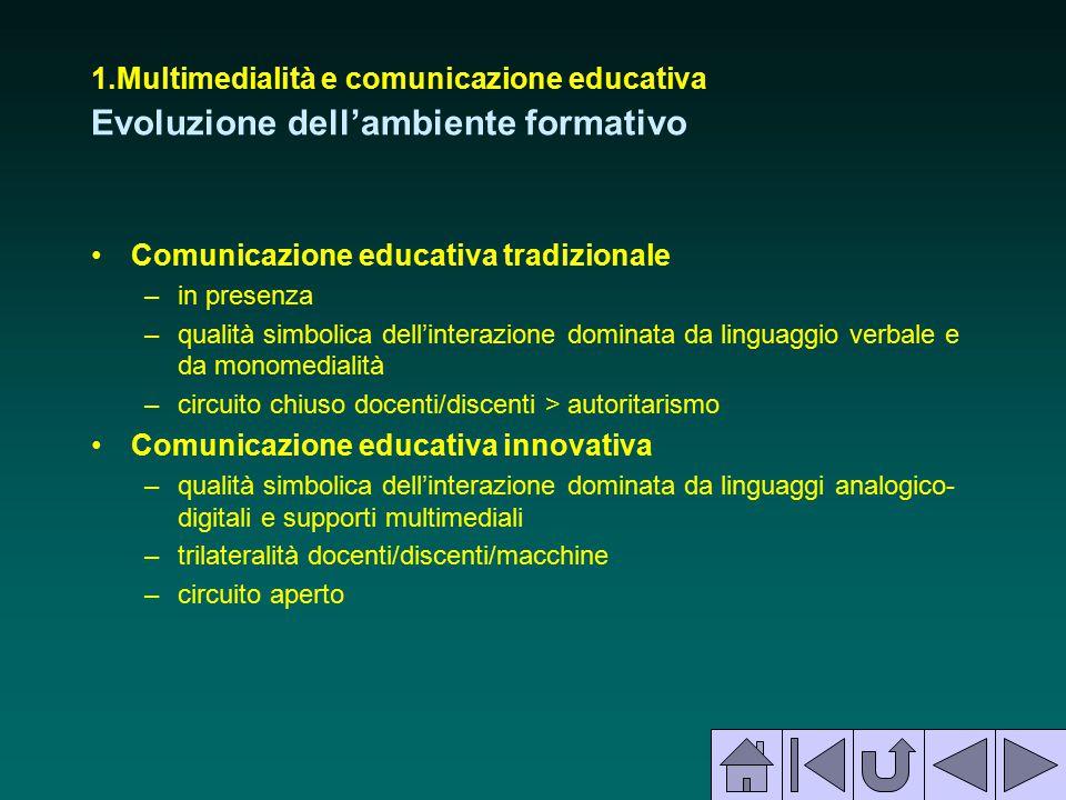 Comunicazione educativa tradizionale