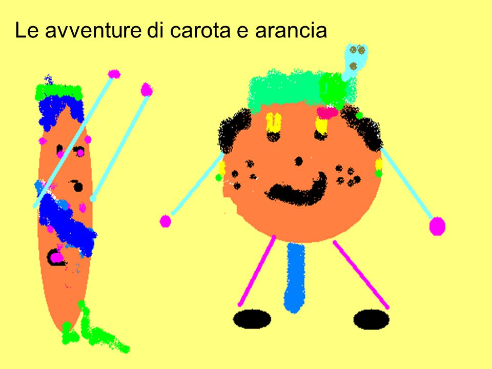 Le avventure di carota e arancia