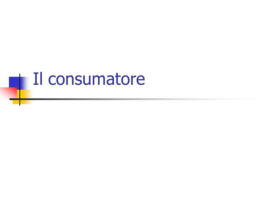 Il consumatore