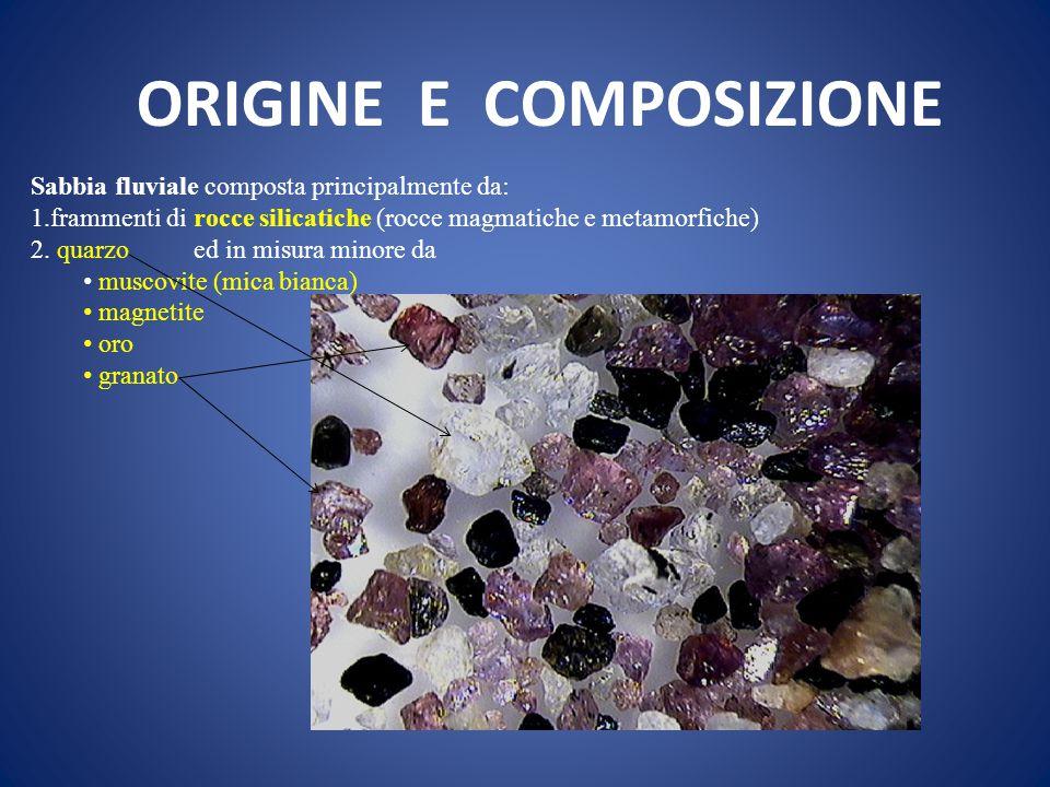 ORIGINE E COMPOSIZIONE