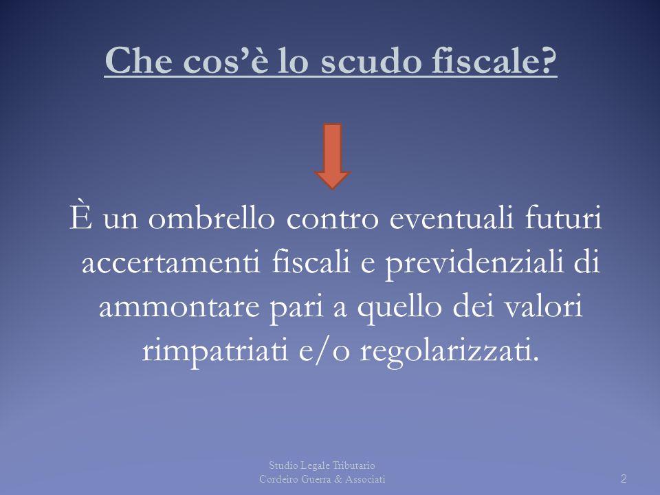 Che cos'è lo scudo fiscale