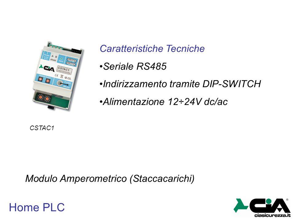 Home PLC Caratteristiche Tecniche Seriale RS485