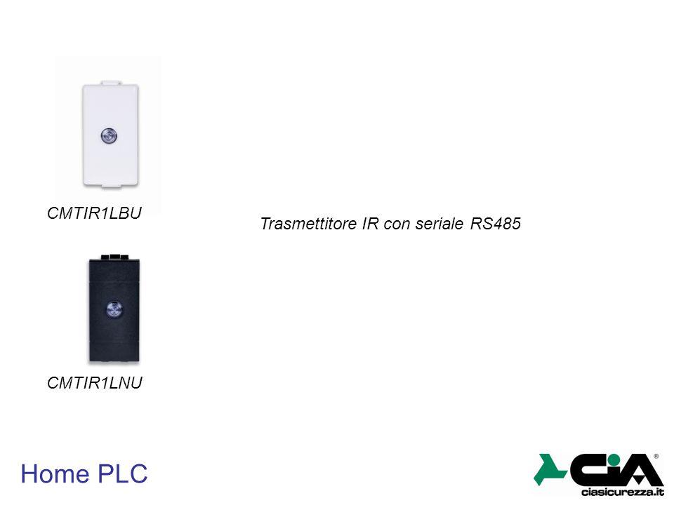 CMTIR1LBU Trasmettitore IR con seriale RS485 CMTIR1LNU Home PLC