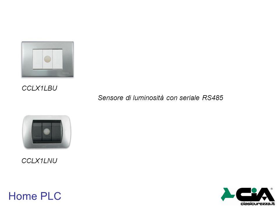 CCLX1LBU Sensore di luminosità con seriale RS485 CCLX1LNU Home PLC