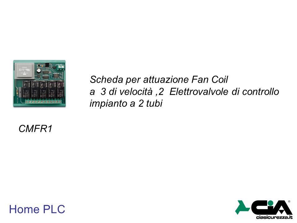 Home PLC Scheda per attuazione Fan Coil