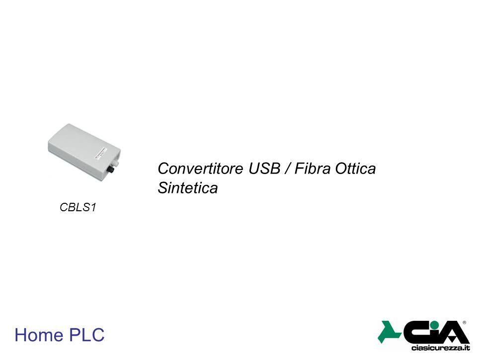 Convertitore USB / Fibra Ottica Sintetica