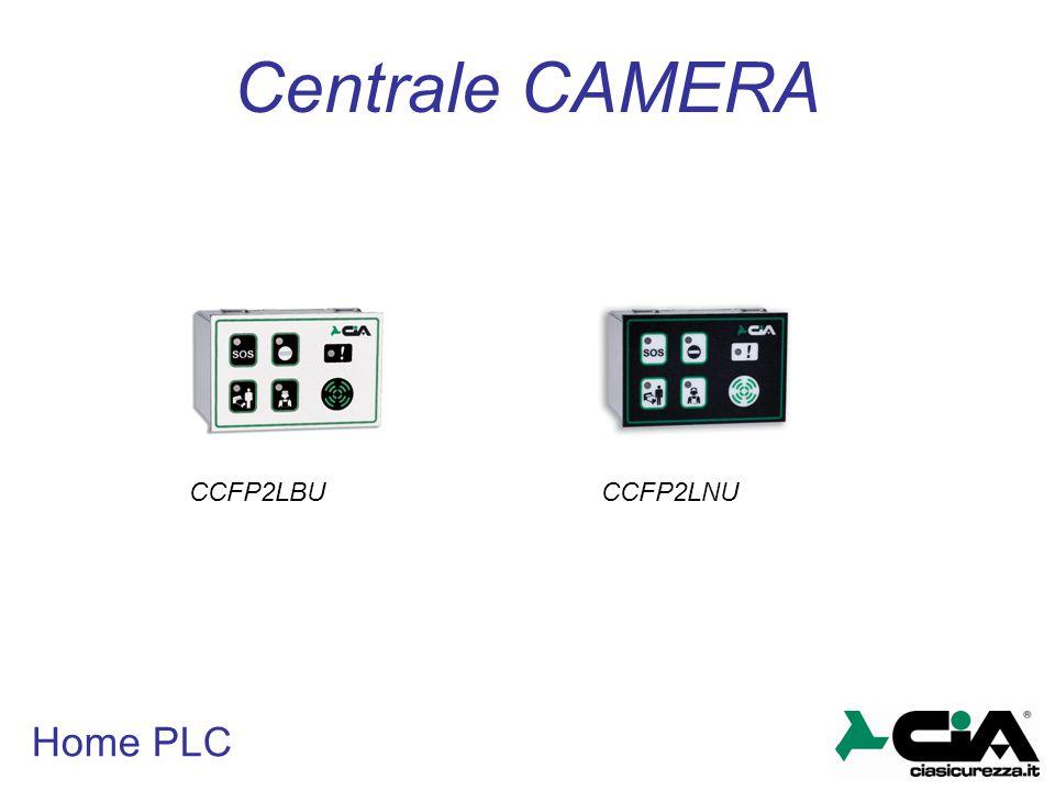 Centrale CAMERA CCFP2LBU CCFP2LNU Home PLC