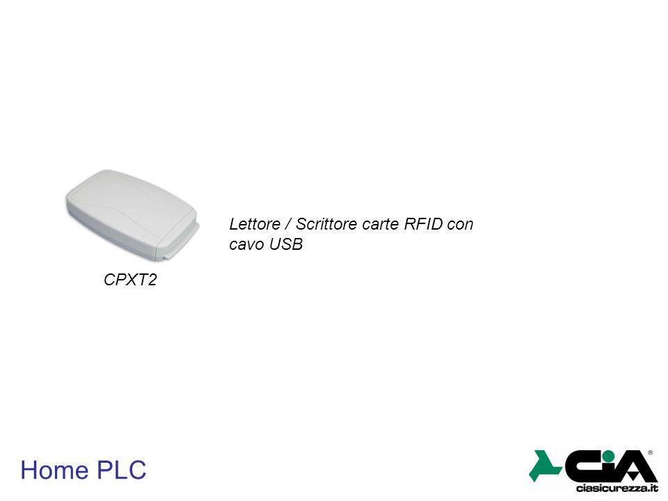 Lettore / Scrittore carte RFID con