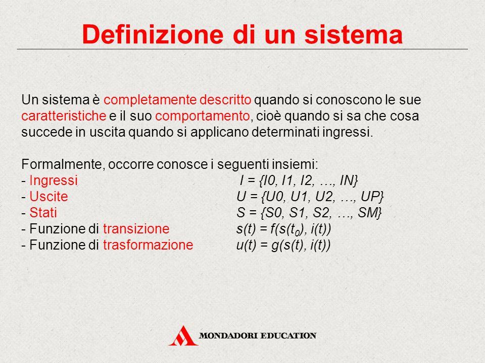 Definizione di un sistema