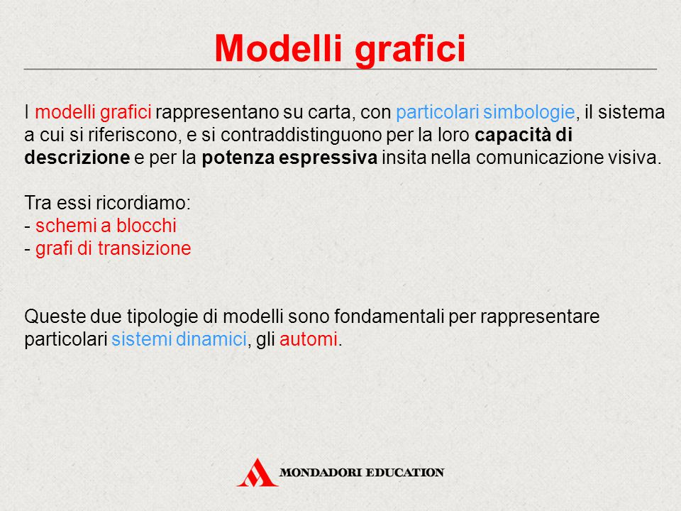 Modelli grafici