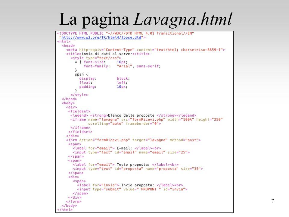 Programmazione Web - Esercizi PHP
