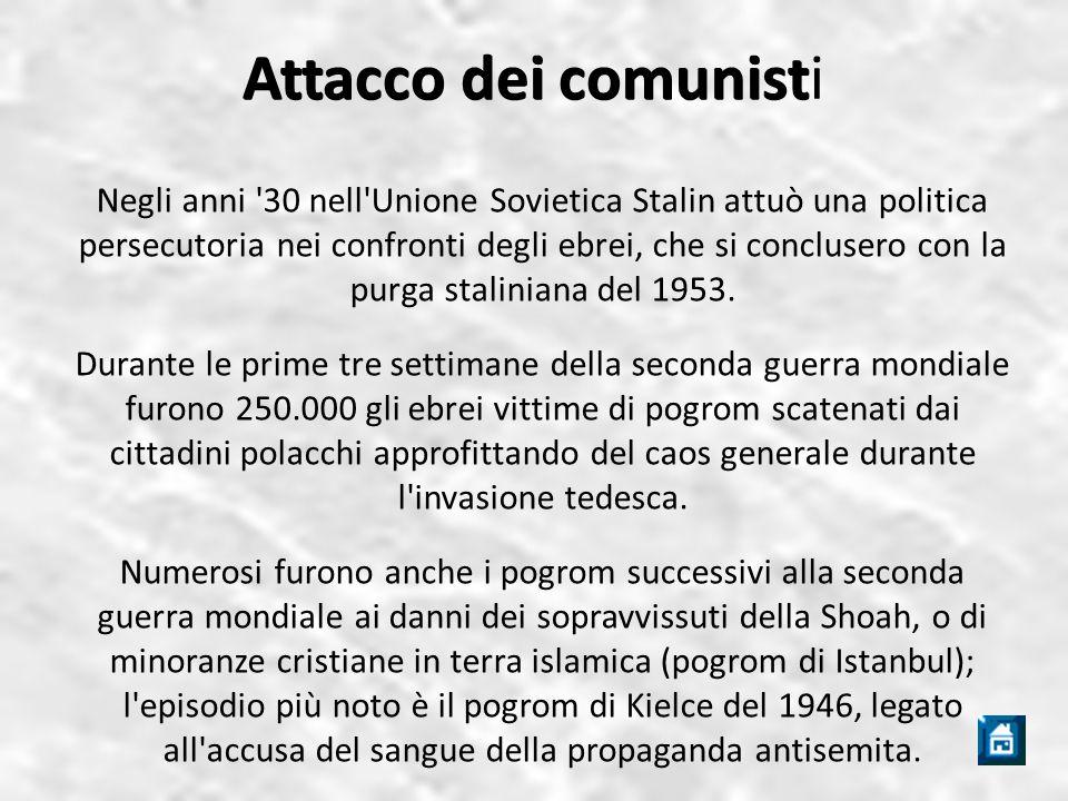 Attacco dei comunisti