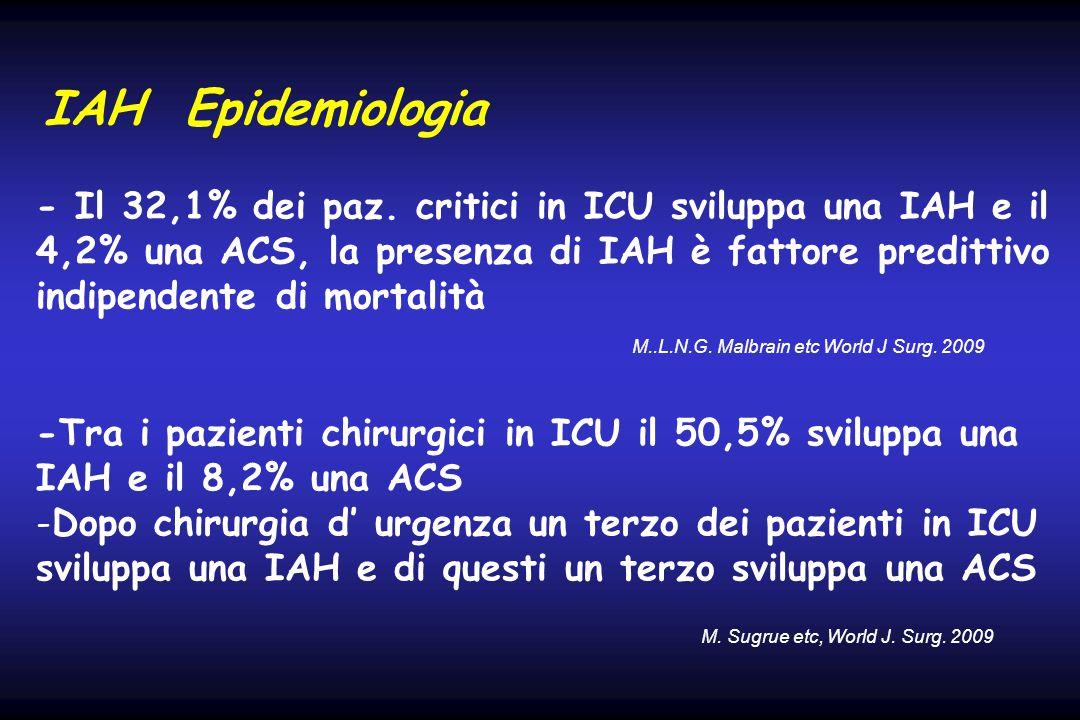 IAH Epidemiologia