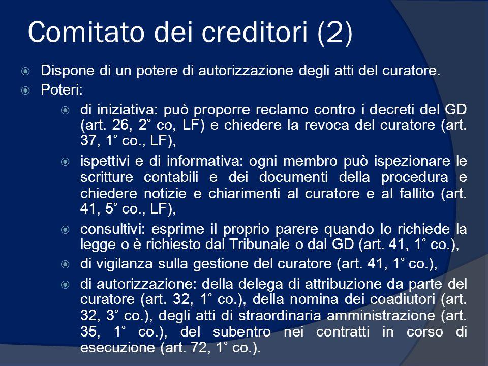 Comitato dei creditori (2)