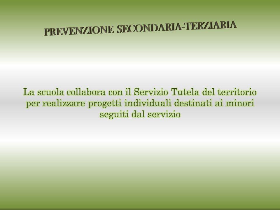 PREVENZIONE SECONDARIA-TERZIARIA