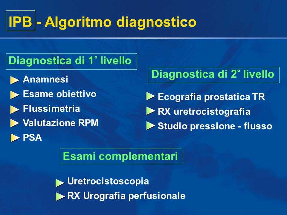 IPB - Algoritmo diagnostico